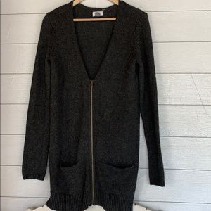 Old Navy | Gray Wool Blend Sweater Duster | M